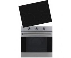 Carad BO20756X Φούρνος άνω πάγκου 75Lt + Carad VTC608 Ανεξάρτητη κεραμική εστία