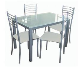 Τραπέζια με καρέκλες εσωτερικού χώρου